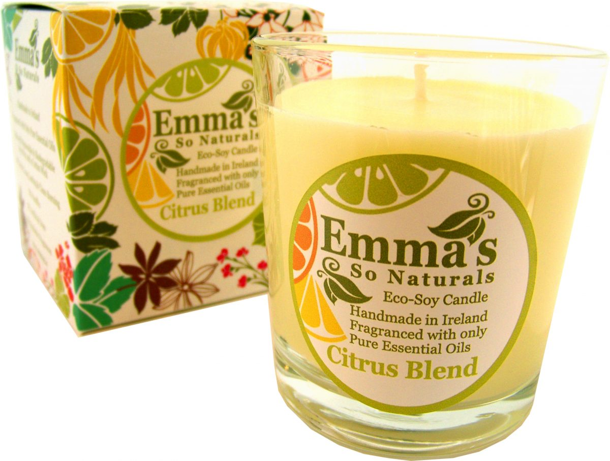 Emma's So Naturals - Citrus candle