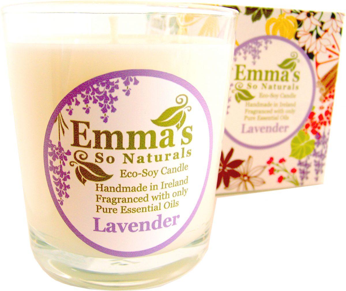 Emma's So Naturals - Lavender Tumbler & Box
