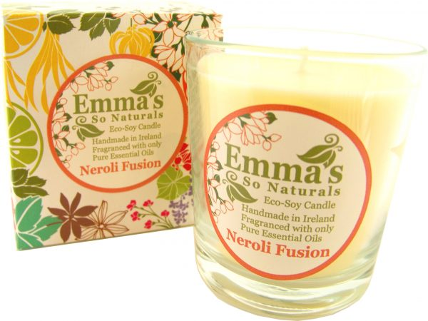 Eco-Soy Candles | Emma's So Naturals - Neroli Tumbler & Box