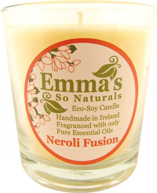 Eco-Soy Candles | Emma's So Naturals - Neroli Tumbler Glass | Chemical Free
