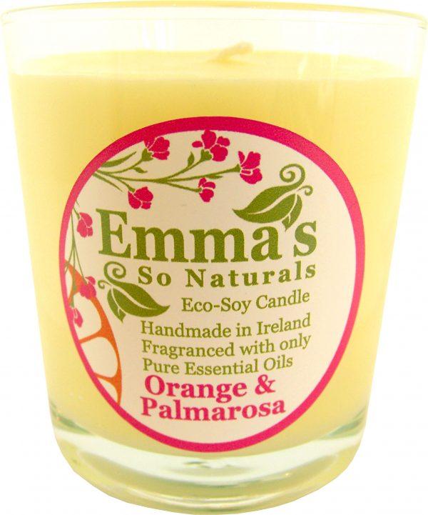 Emma's So Naturals - Orange & Palmarosa Tumbler Glass