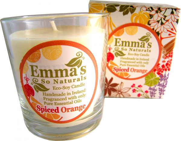 Emma's So Naturals - Spiced Orange Tumbler & Box | Chemical Free