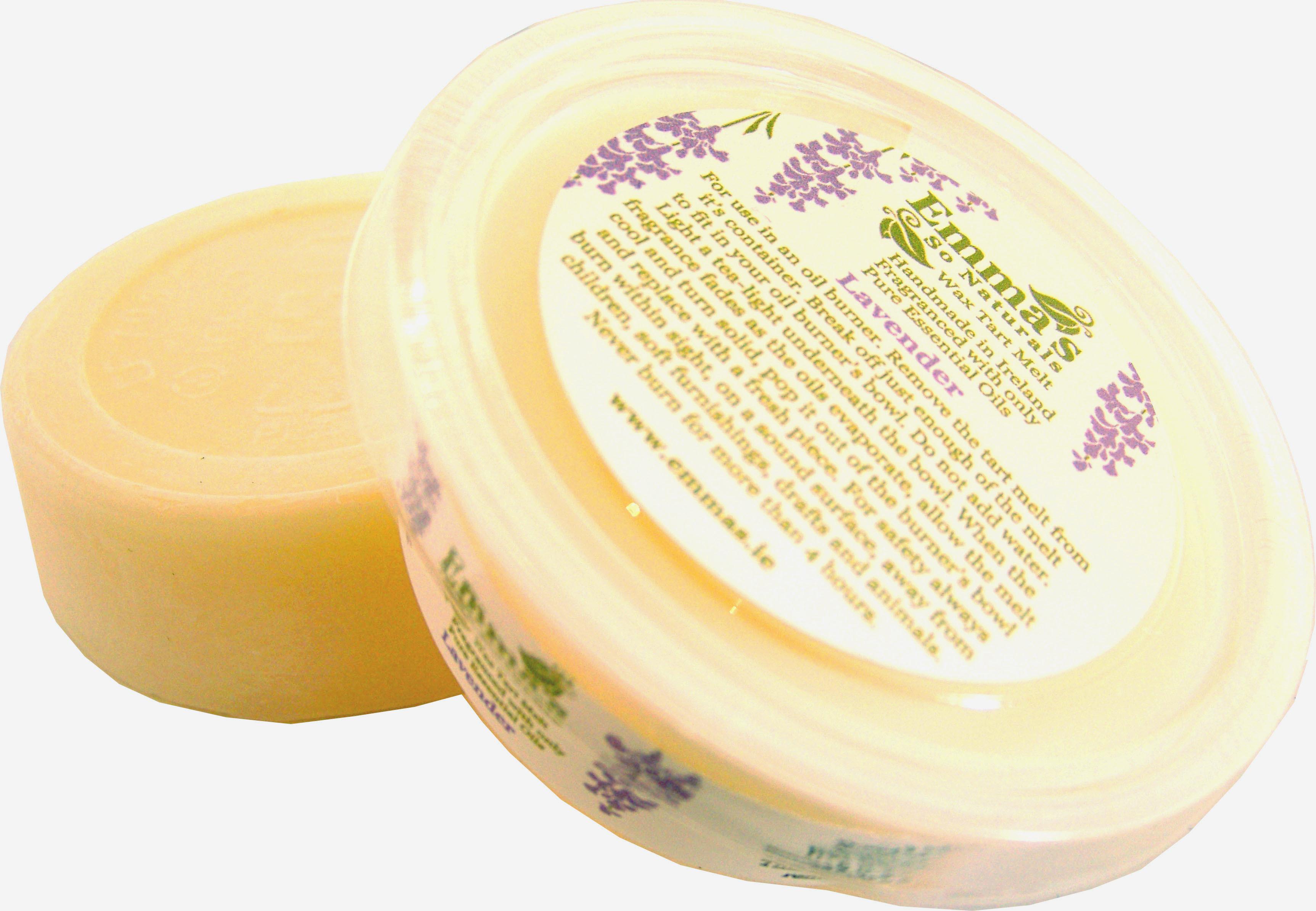 Lavender Fragranced All Natural Eco-Soy Wax Tart Melt