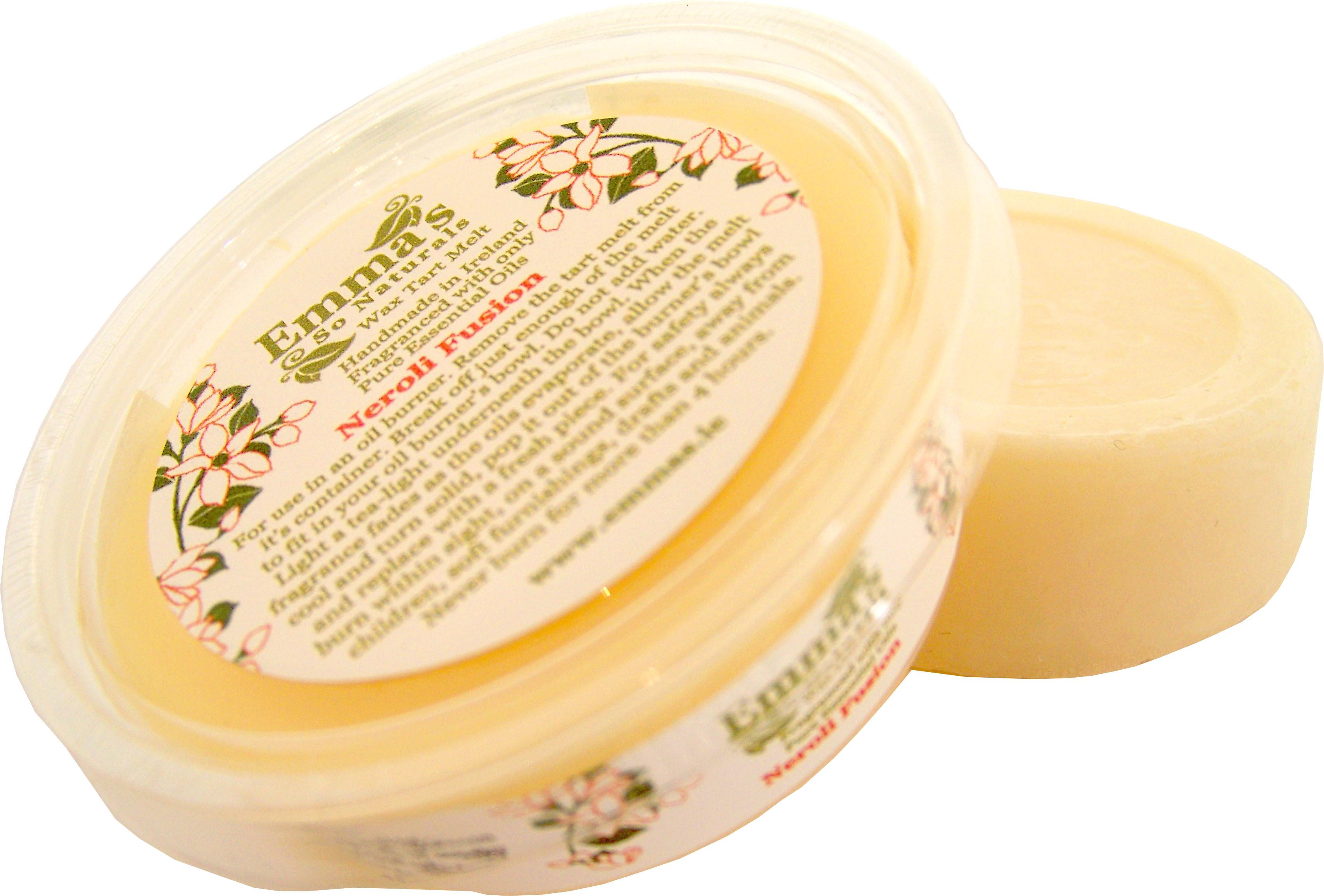 Neroli Fusion Fragranced All Natural Eco-Soy Wax Tart Melt