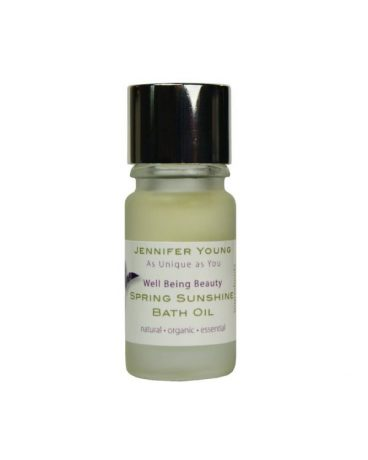Jennifer Young, Defiant Beauty, Spring Sunshine Bath Oil, Allwoman