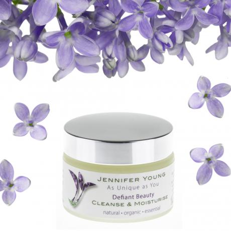 Jennifer Young, Defiant Beauty, Cleanse and Moisturise, Allwoman,