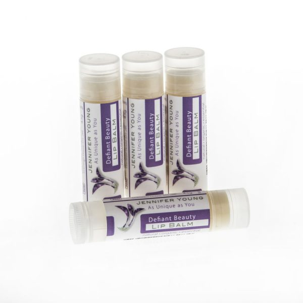 Jennifer Young, Defiant Beauty, Lip Balm, Allwoman,